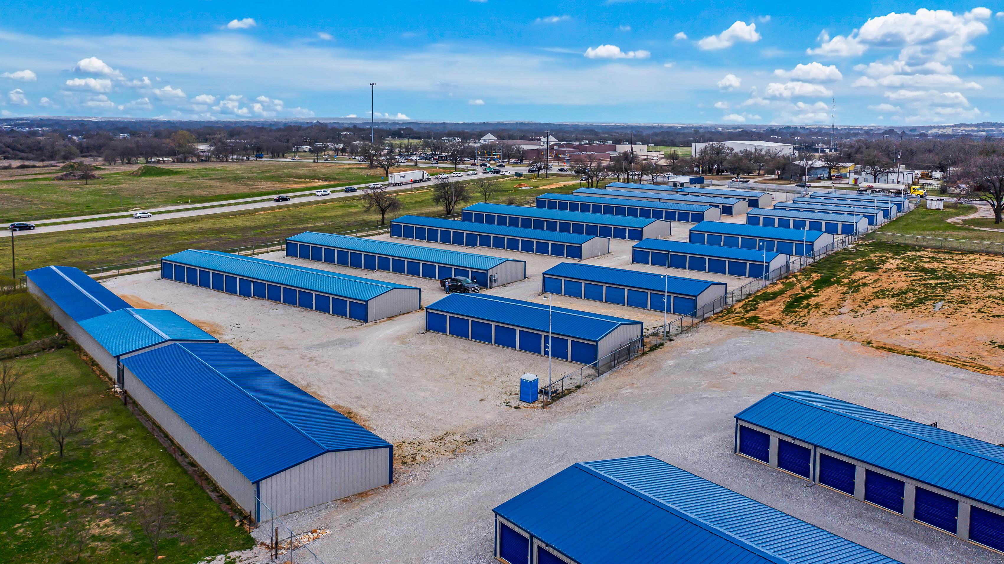 non-climate control storage units springtown texas
