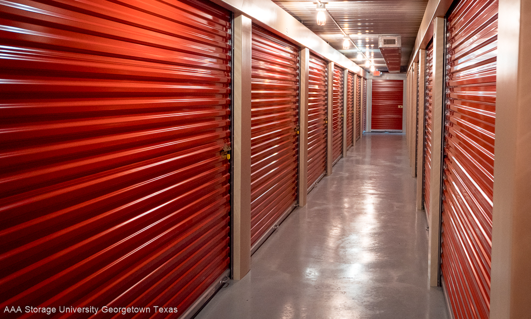 Climate Controlled mini storage in Georgetown Texas