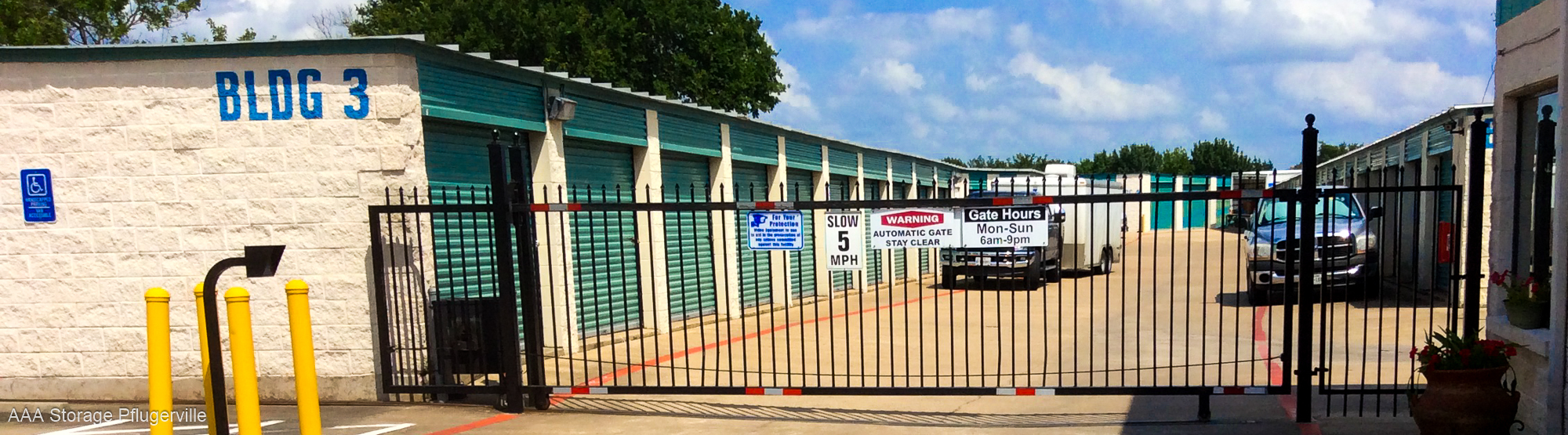 Affordable Self Storage In Pflugerville Texas 78660 Aaa Storage
