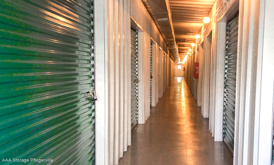 Pflugerville Texas climate controlled storage
