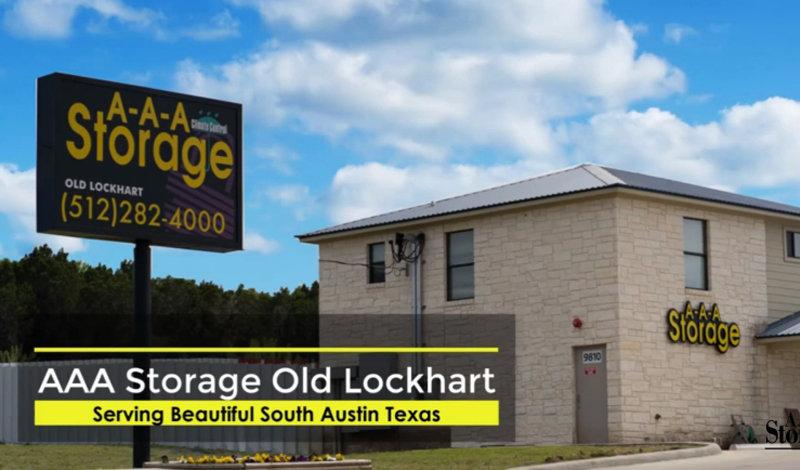 AAA Storage facility on 9810 Old Lockhart Rd - Austin, TX