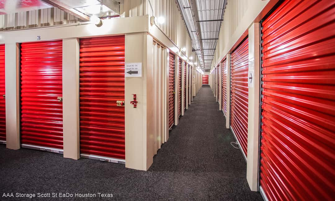 Find East Downtown Houston climate controlled self storage near me