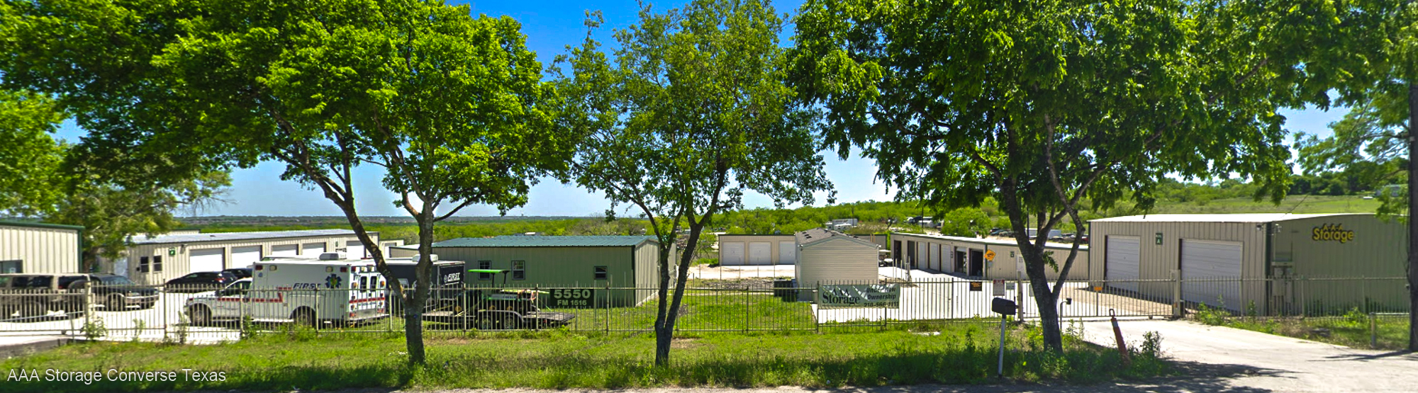 AAA Storage business park and Self Storage on FM-1516
