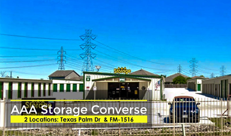 AAA Storage facility on 4510 Texas Palm Dr - Converse, TX
