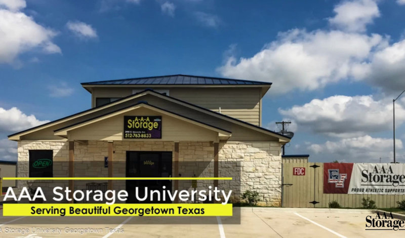 AAA Storage facility on 3901 E University Ave - Georgetown, TX