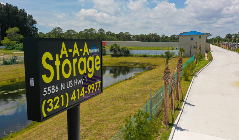 AAA Storage facility on 5586 N US Hwy 1 - Melbourne, FL
