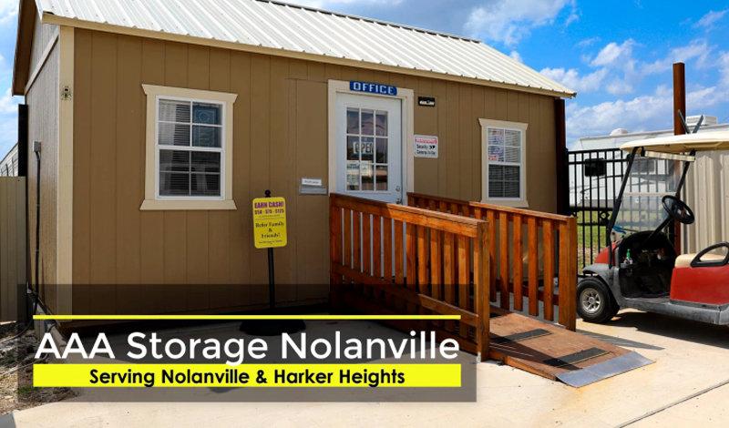 AAA Storage facility on 645 Spur 439 - Nolanville, TX