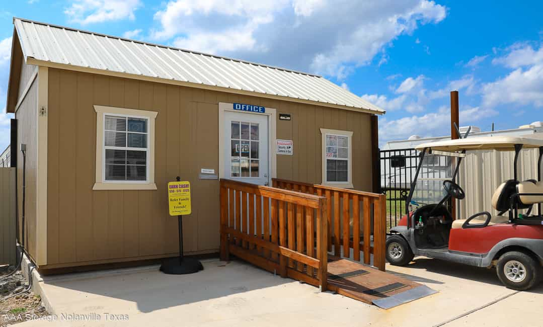 Our AAA Storage Nolanville Rental Office