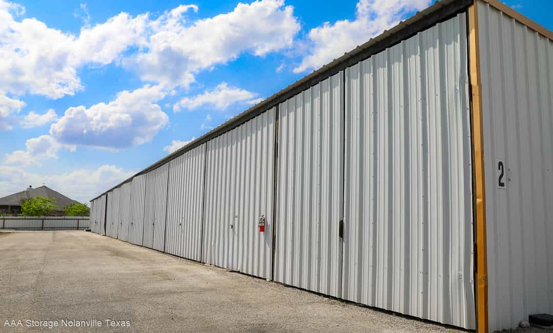 Enclosed RV and Boat Storage, for your protection.