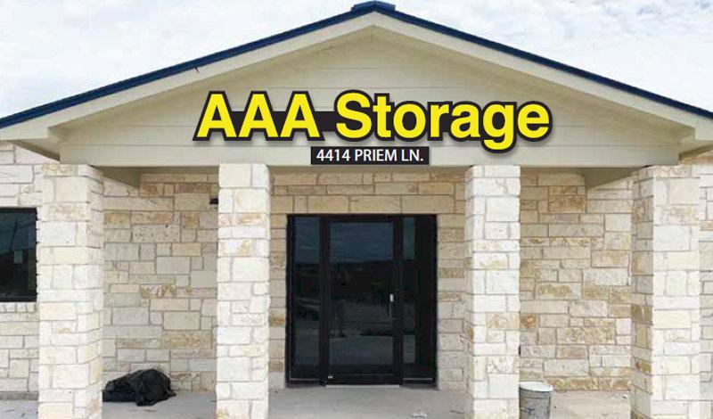 AAA Storage facility on 4414 Priem Lane - Pflugerville, TX