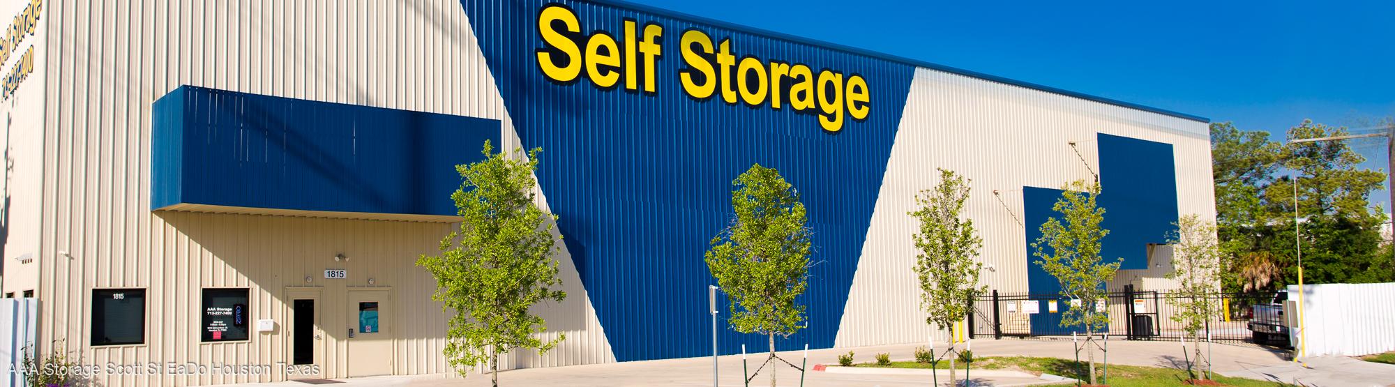 AAA Storage Scott St. Premium EaDo Self Storage