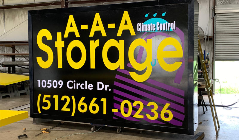 AAA Storage facility on 10509 Circle Dr - West Austin, TX