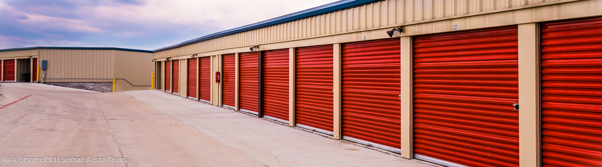 Austin TX Self Storage - Drive Up Units, Storage Units