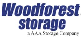 Woodforest Storage Logo