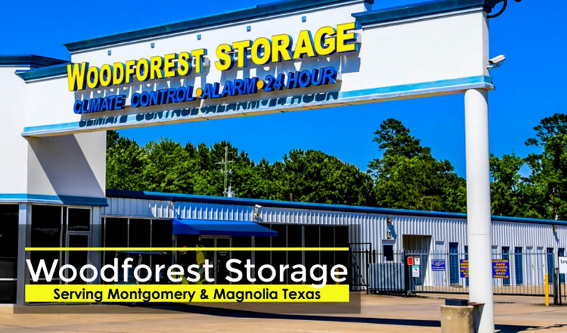 Woodforest Storage facility on 3636 Honea Egypt Rd - Montgomery, TX