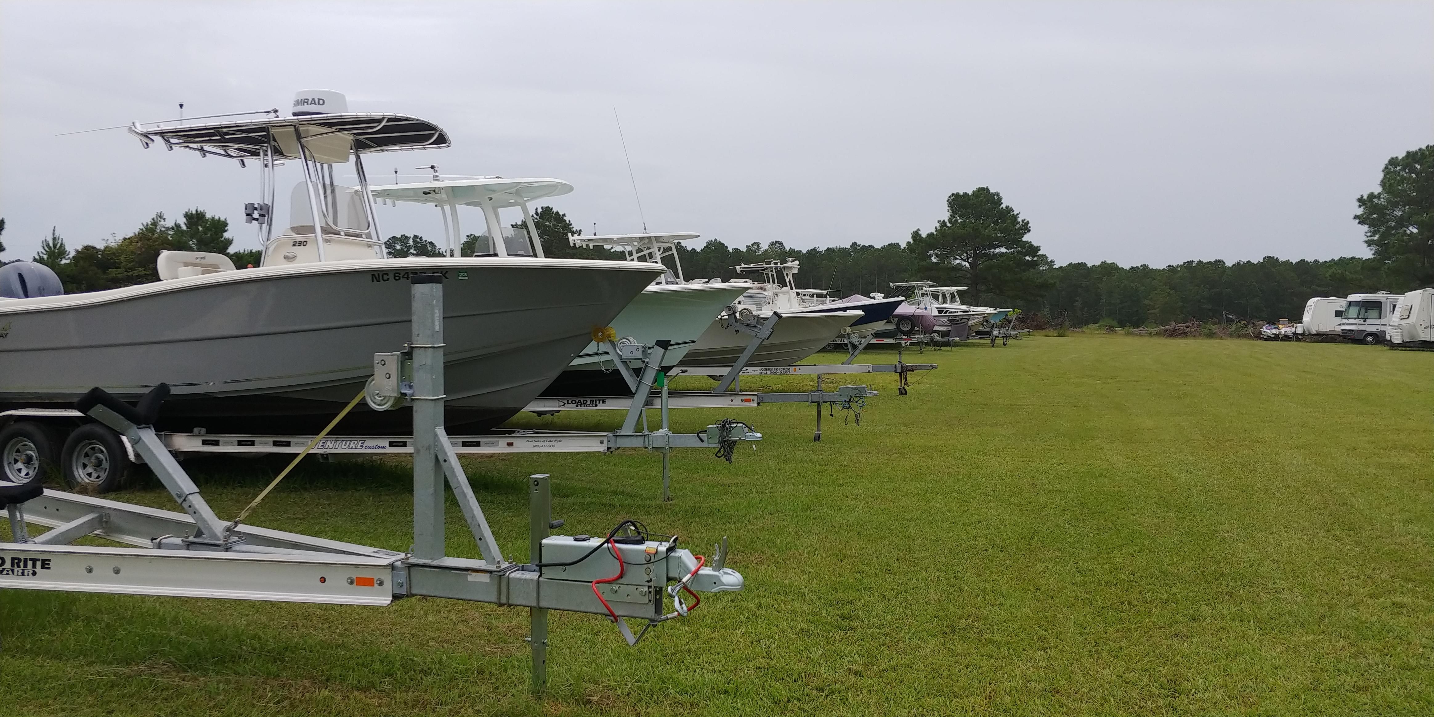 Boat storage in Ocean Isle Beach, NC
