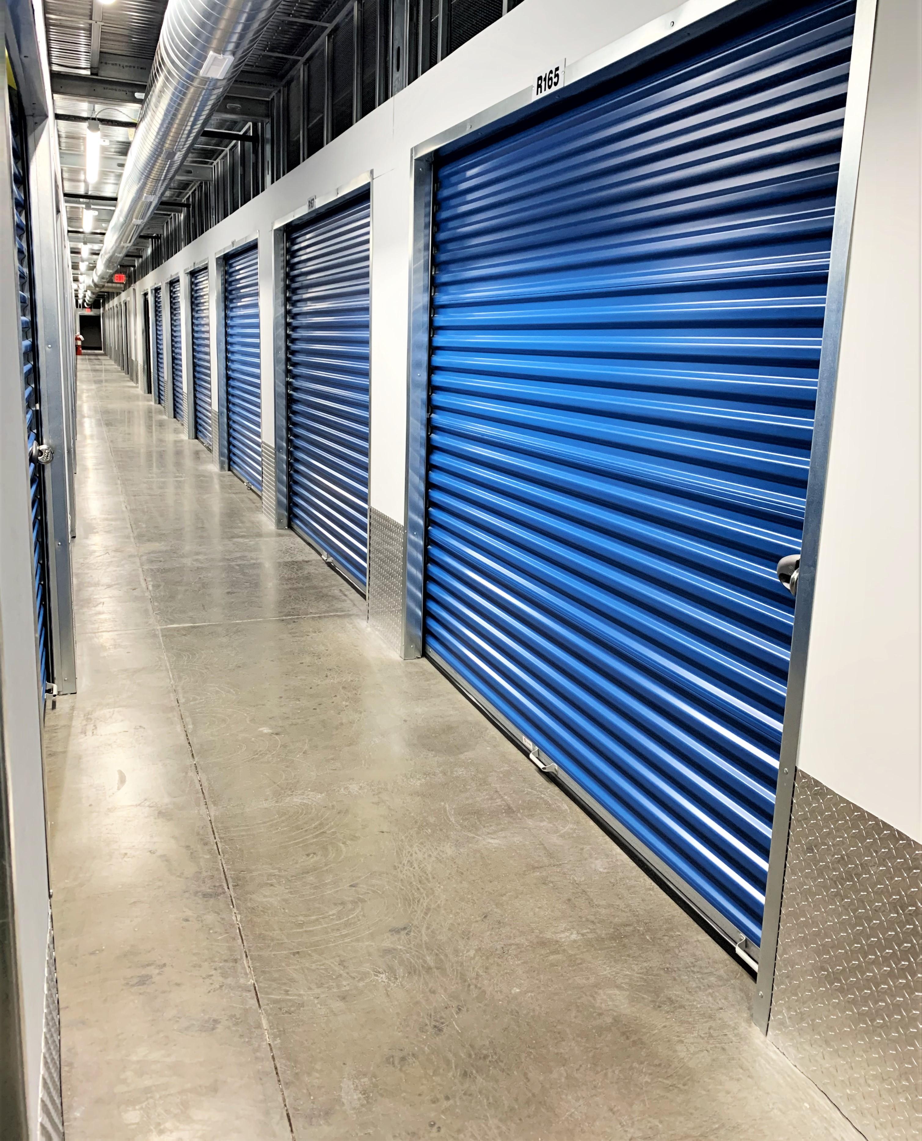 interior access self storage units