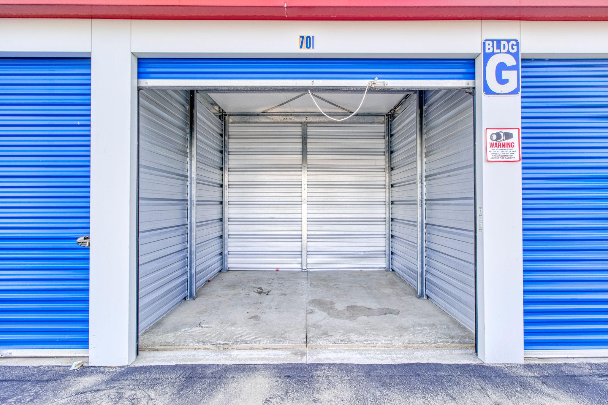 large storage units available