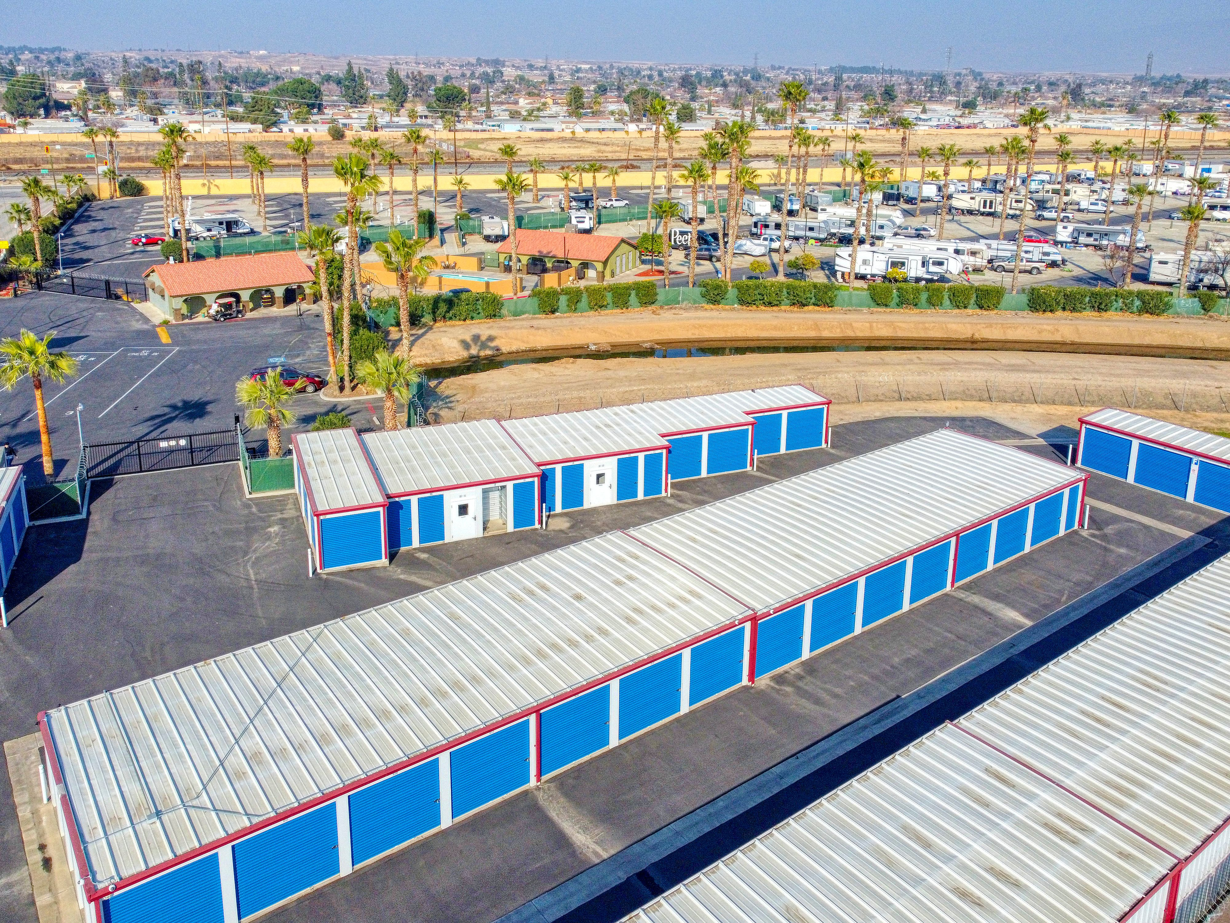rv and boat parking, bakersfield, ca