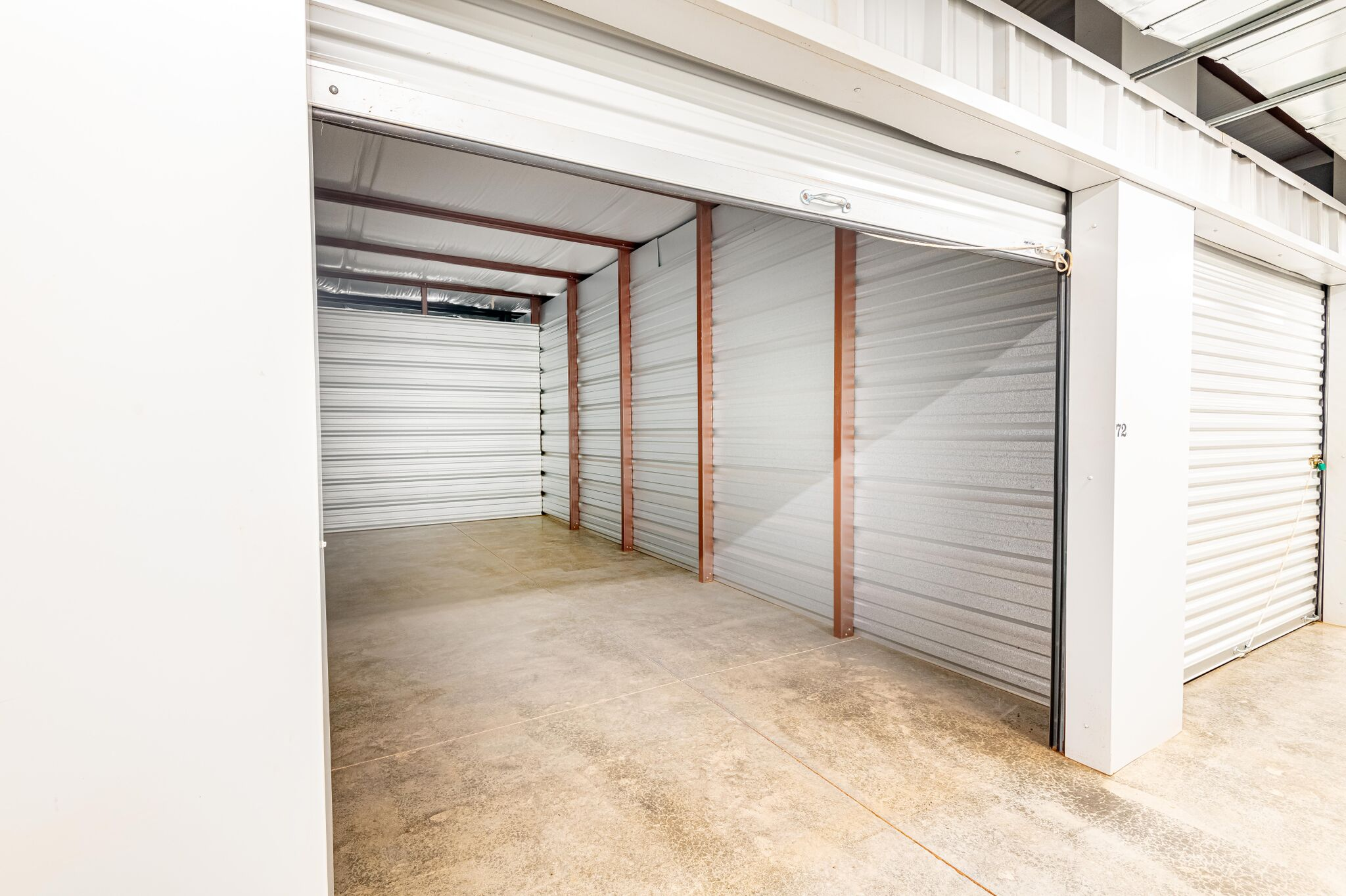 Interior of Storage Unit Florence, AL