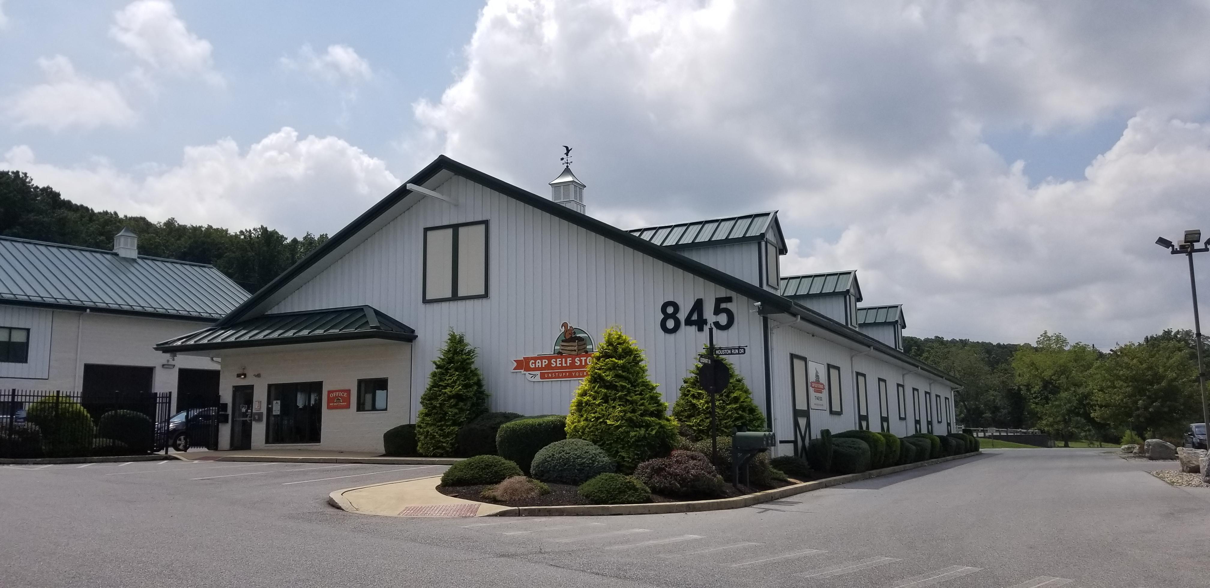 Storage in Gap, PA