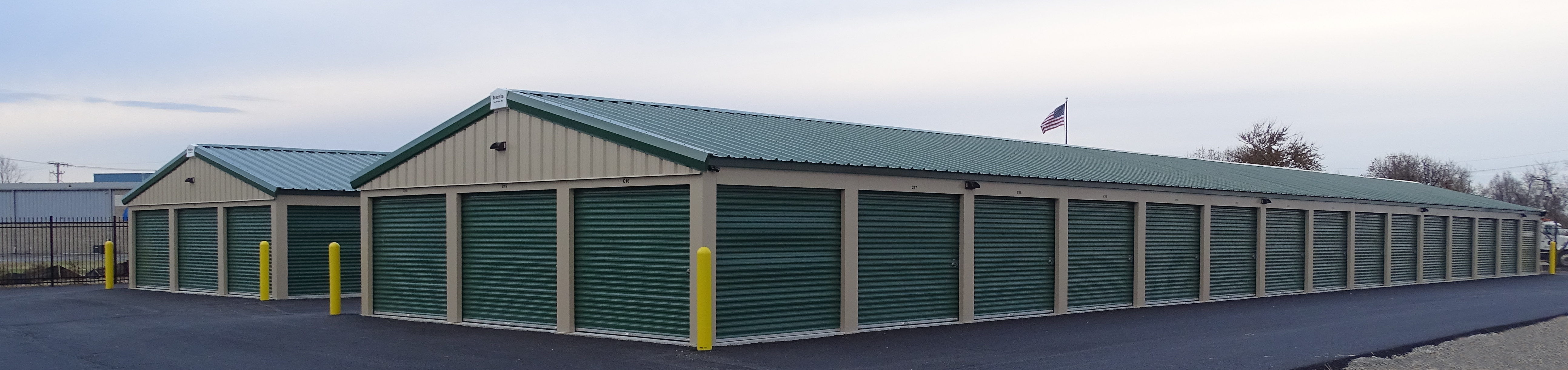 Outdoor Storage with Convenient Drive Up Access