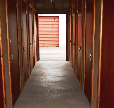 Interior Self Storage Fairfield