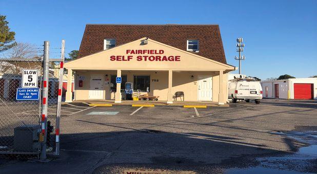 Fairfield Self Storage Storefront