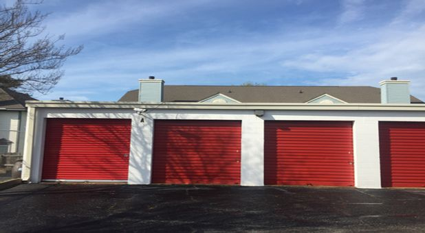Outdoor, drive up storage units