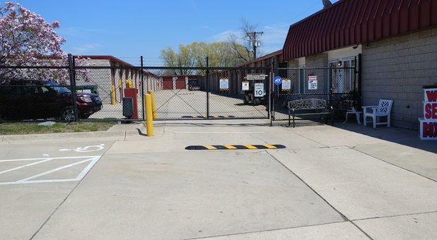 Gated Entrance To Fort Knox Self Storage - Woodbridge