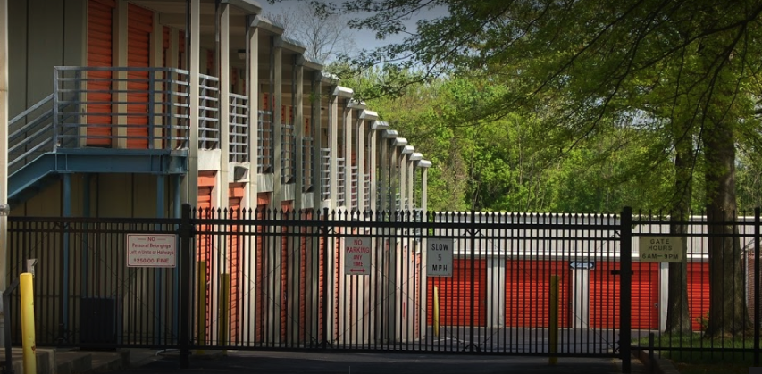 Fenced and Gated self storage