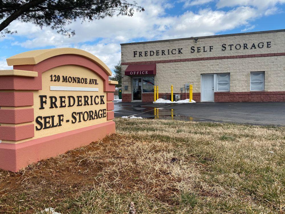 Frederick Self Storage Storefront