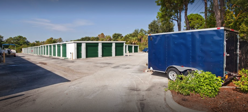 A1A Self Storage Outdoor Storage Units with Drive Up Access