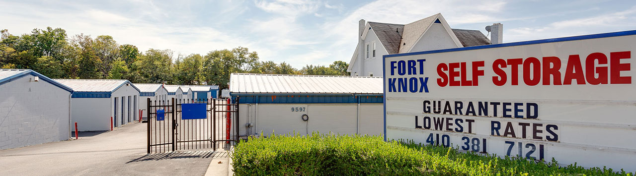 Self storage fort knox