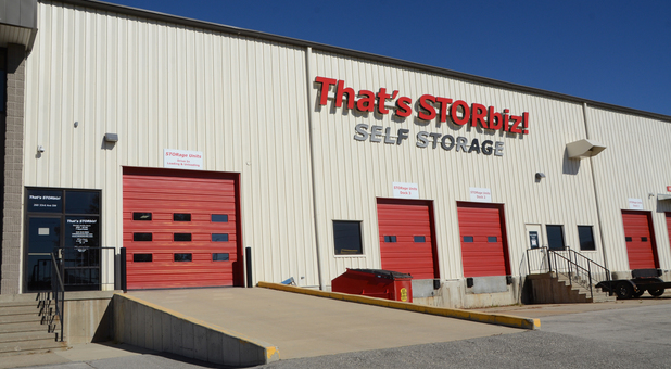 Easy access to your storage unit