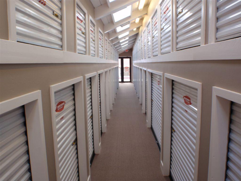 Rocket Self Storage interior storage