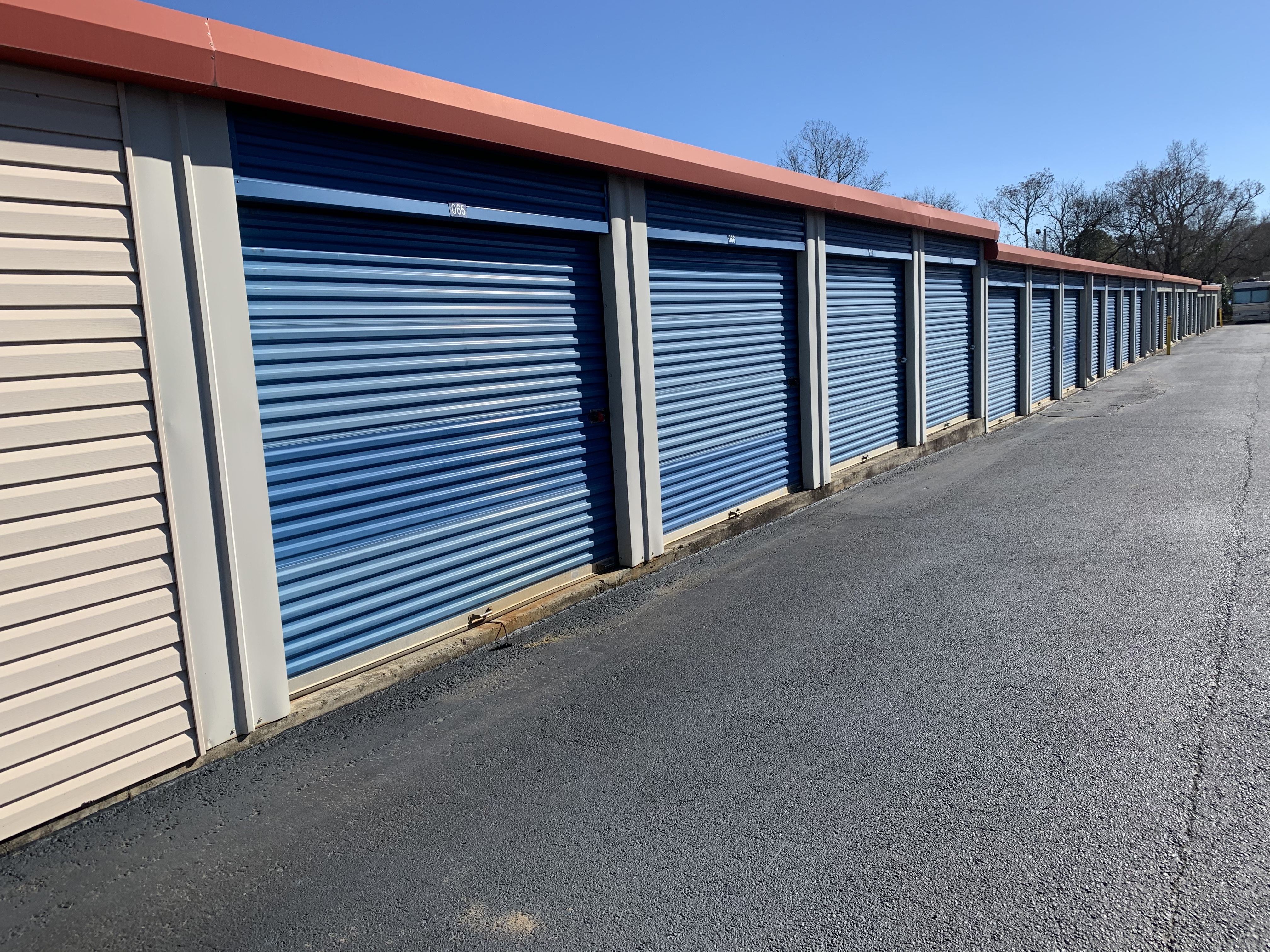 Storage units in Warner Robins, GA