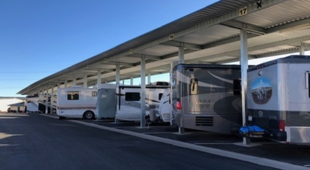RV covered parking in Reno, NV