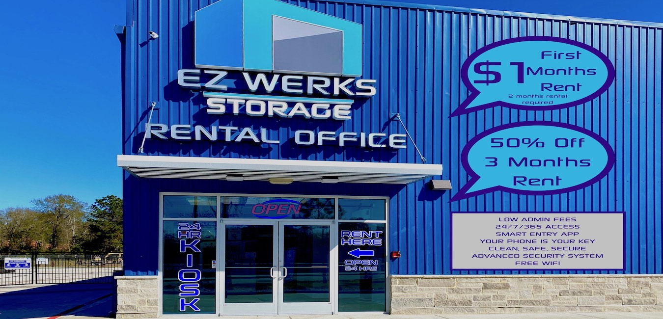 EZ Werks Self Storage front office