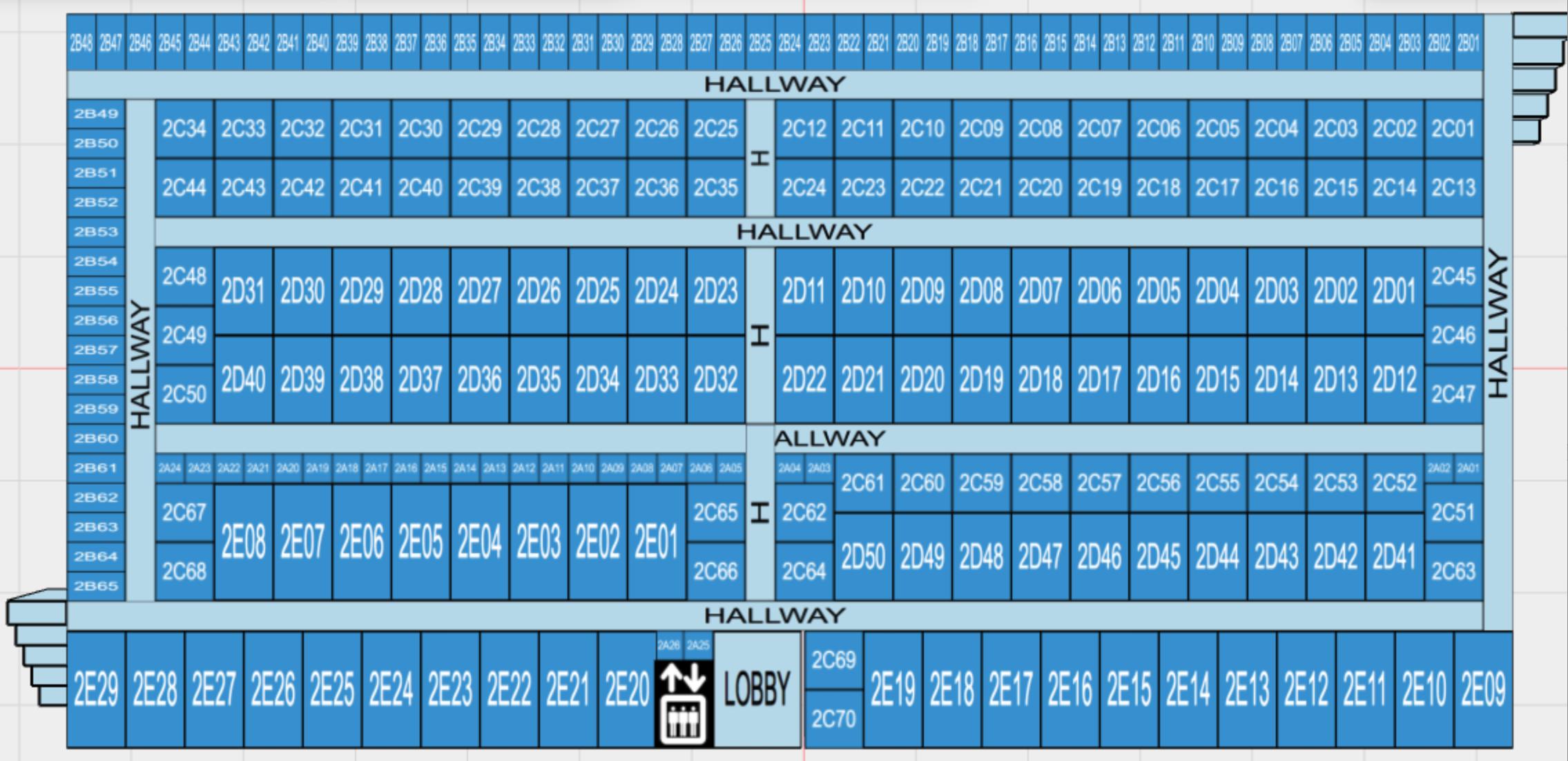 level 2 facility map
