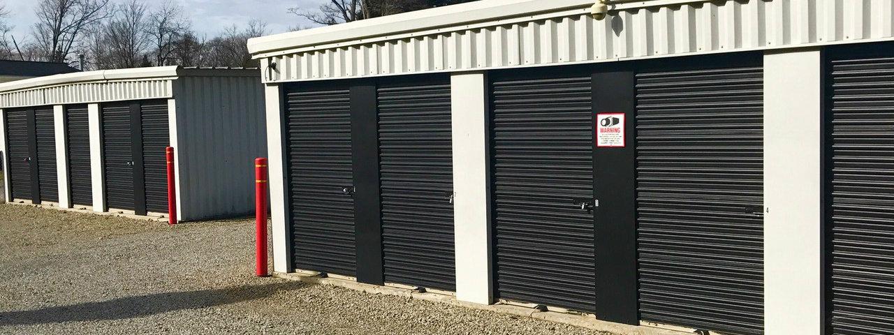 Drive-Up self storage units at AmeriStorage Self Storage