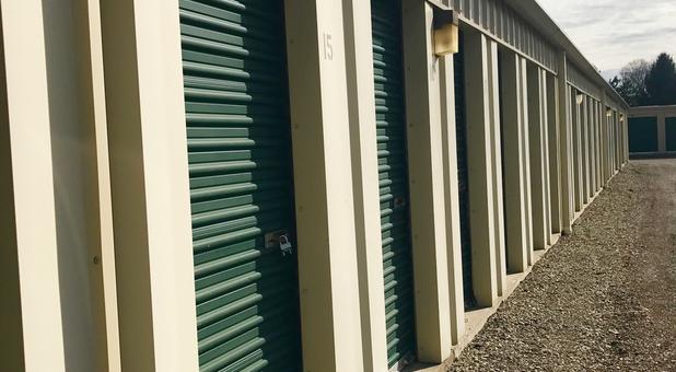 Small self storage units at AmeriStorage
