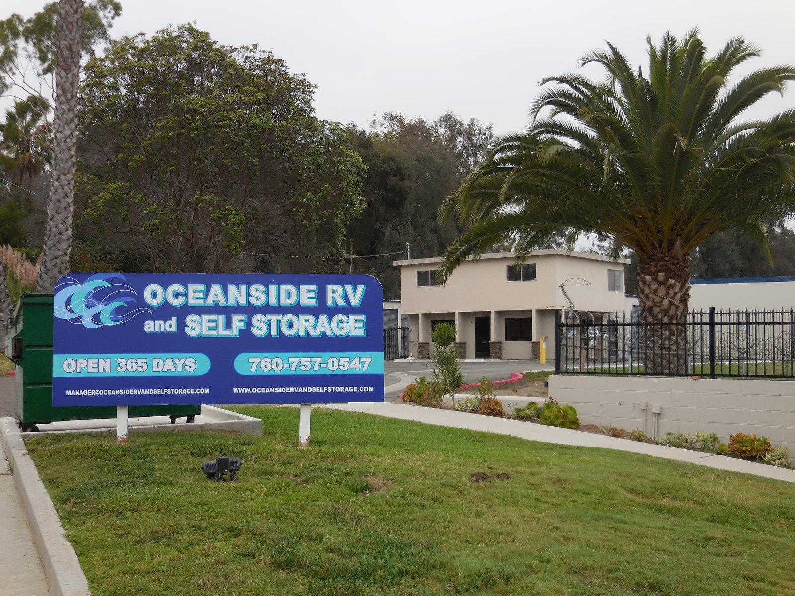 Self-Storage in Oceanside, CA 92054