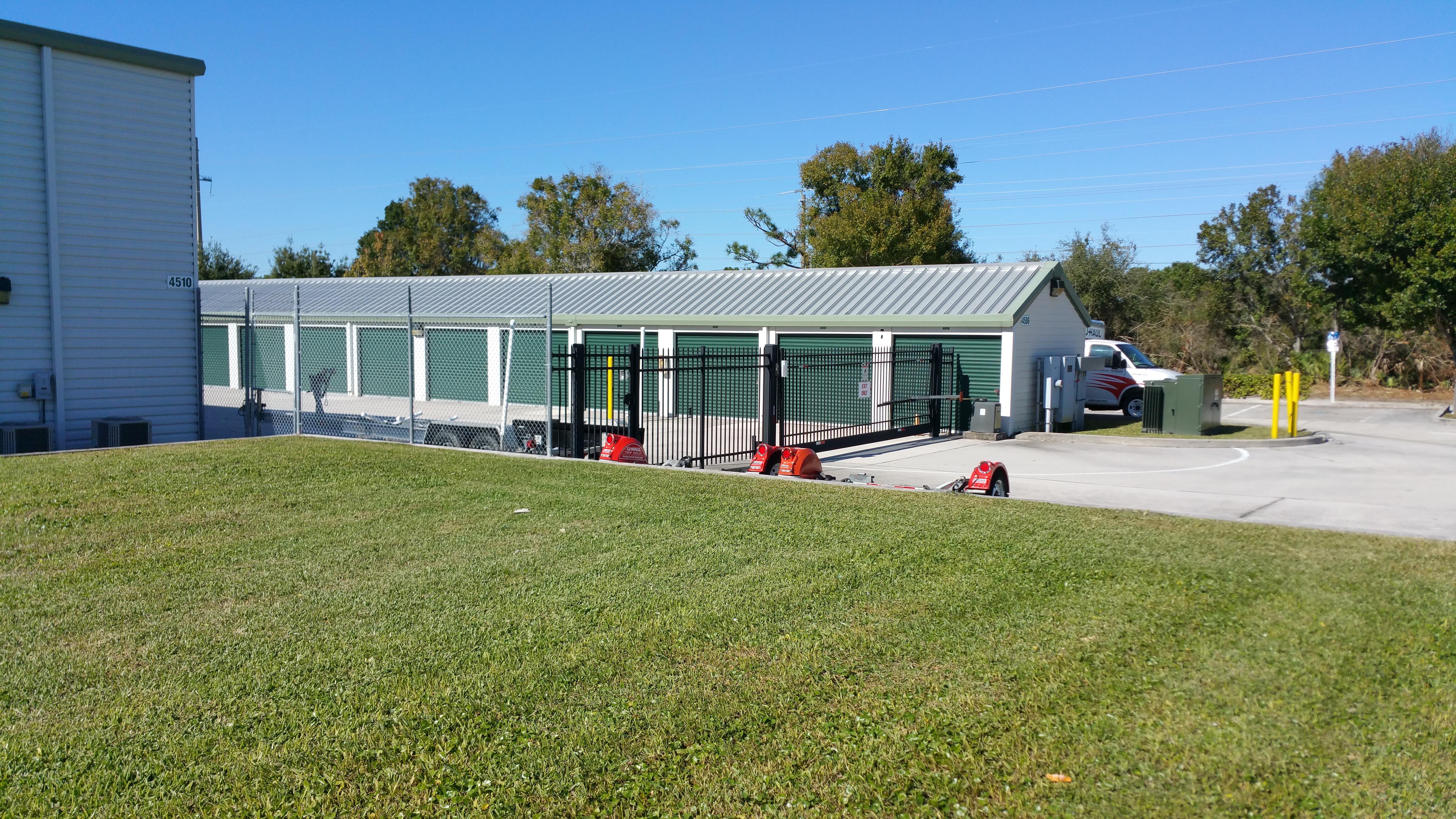 Gated Self storage in Palm Bay, FL