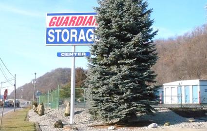 Guardian Storage Center roadside sign