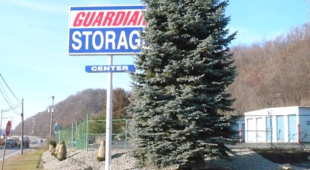 Roadside view of Guardians Storage Center