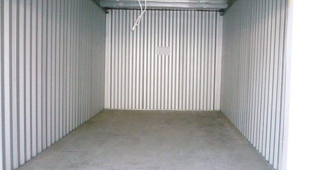 Inside of a storage unit at Guardian Storage Center