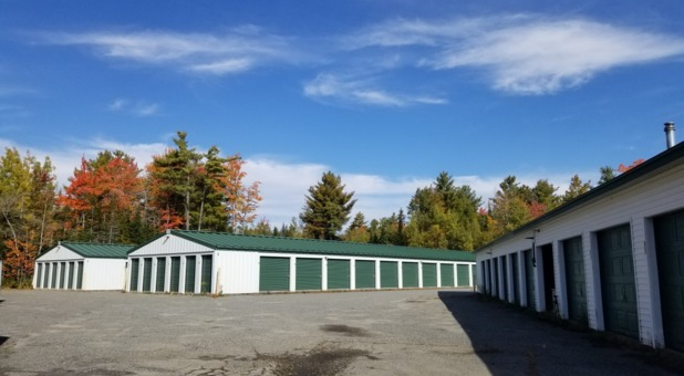 Drive up self storage in Ellsworth, ME