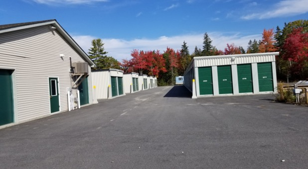 Easy access to self storage in Ellsworth, ME