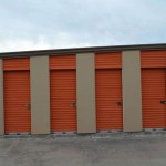 Exterior Storage Units with small doors